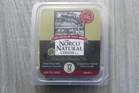 Norco Norco Natural Slices 250g Dairy & Eggs > Cheese