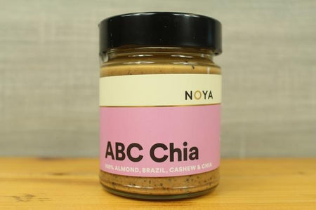 Noya Noya ABC Chia Butter 250g Pantry > Nut Butters, Honey & Jam