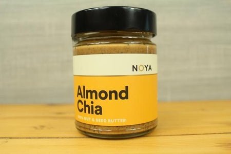 Noya Noya Almond Chia Butter 250g Pantry > Nut Butters, Honey & Jam