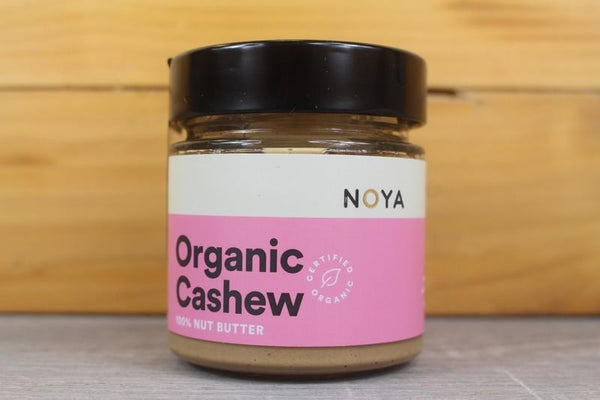 Noya Organic Cashew Butter 200g Pantry > Cookies, Biscuits & Sweet Snacks