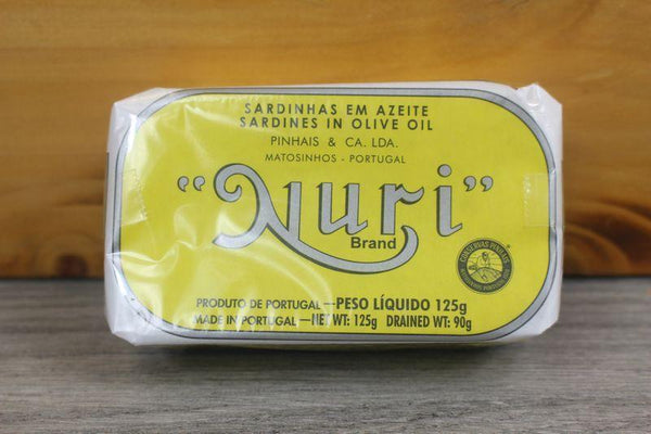 Nuri Sardines in Olive Oil 125g Pantry > Canned Goods