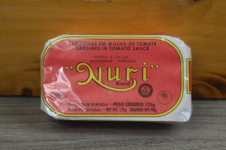 Nuri Sardines in Tomato Sauce 125g Pantry > Canned Goods