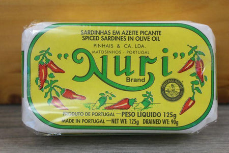 Nuri Spiced Sardines in Olive Oil 125g Pantry > Canned Goods