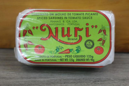 Nuri Spiced Sardines in Tomato Sauce 125g Pantry > Canned Goods