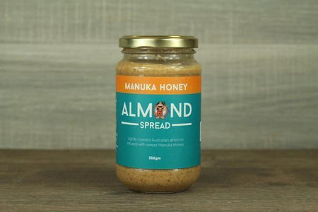 Nut Butters Almond Spread Manuka 325g Pantry > Pantry