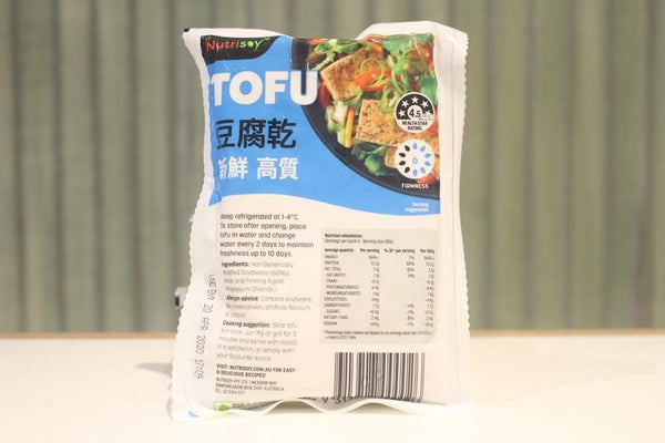 Nutrisoy Chinese Style Tofu 500g Dairy & Eggs > Dairy Alternatives