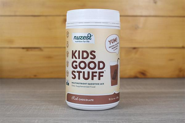 Nuzest Kids Good Stuff Multinutrient Smoothie Mix Chocolate 225g Pantry > Protein Powders & Supplements