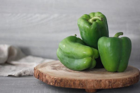 Oakleaf Dutch Green Capsicum (Each) Produce > Vegetables