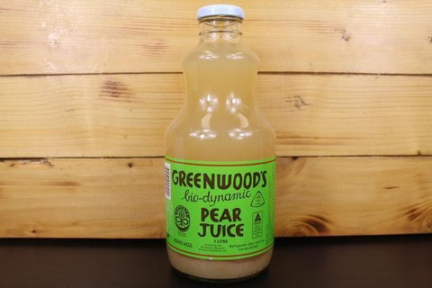 Organic Juice Apple & Pear 1L