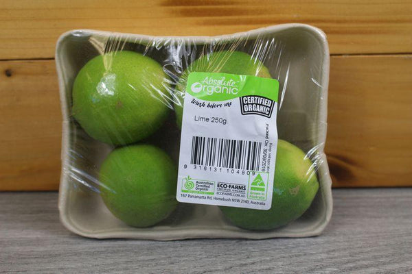 Organic Direct Produce Organic Lime 250g p/p Produce > Fruit