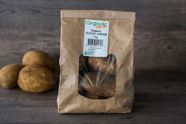 Organic Fresh Organic Dutch Cream Potatoes 1 kg* Produce > Vegetables