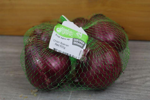 Organic Onion Brown pack 1kg