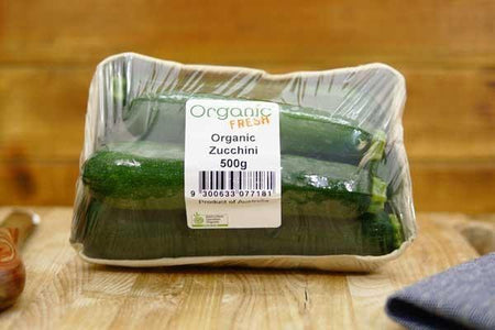 Organic Fresh Organic Zucchini 500g Produce > Vegetables