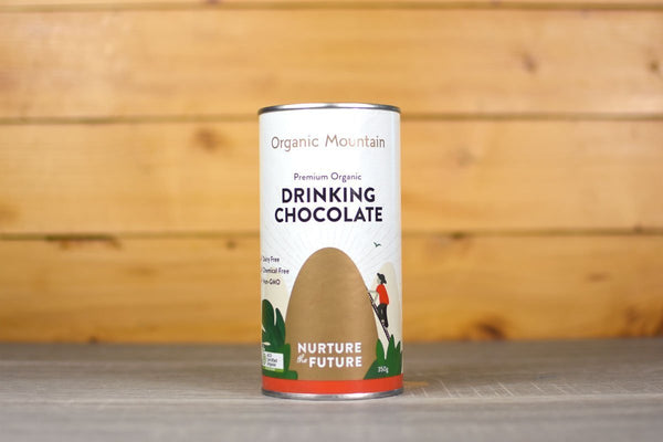 Organic Mountain Organic Drinking Chocolate 350g Pantry > Antipasto, Pickles & Olives