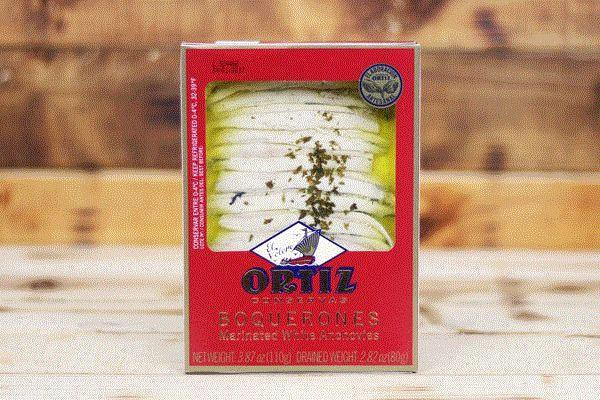 Ortiz Boquerones Marinated White Anchovies 110g Pantry > Canned Goods