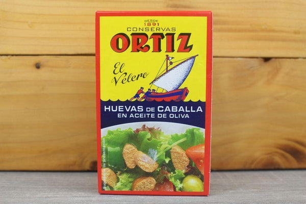 Ortiz Mackerel Roe In Olive Oil 110g Pantry > Canned Goods