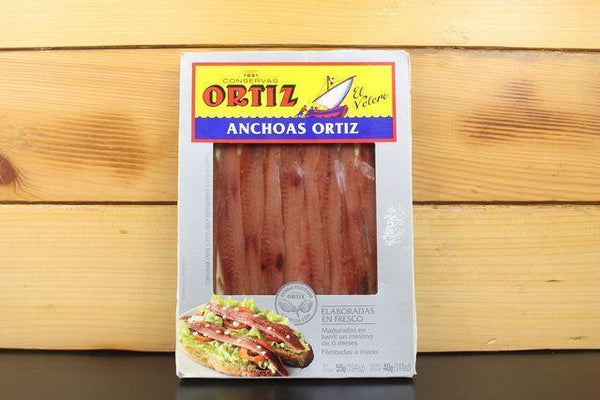 Ortiz Ortiz anchovies in olive oil 55g Pantry > Canned Goods