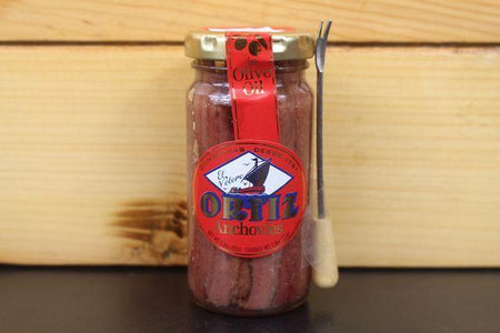 Ortiz Ortiz anchovy fillets in olive oil 95g Pantry > Canned Goods