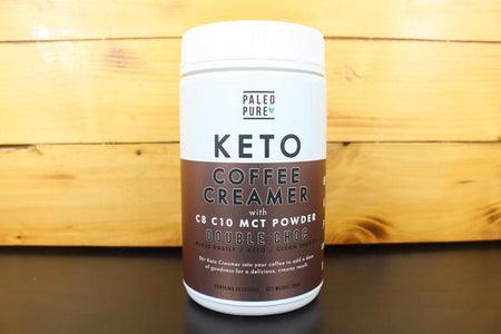 Paleo Pure Coffee Creamer With MCT Powder 250g Double Choc Pantry > Protein Powders & Supplements