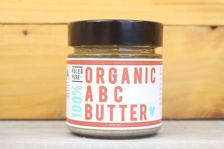 Paleo Pure Organic ABC Butter 190g Pantry > Nut Butters, Honey & Jam