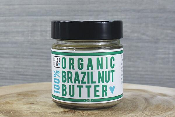 Paleo Pure Ppt Org Nut Butter Brazil Nut 190g Pantry > Nut Butters, Honey & Jam