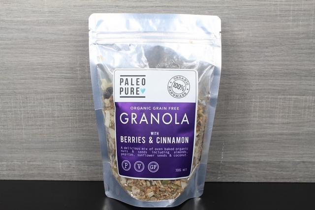 Paleo Pure Ppu Granola Berries & Cinnamon 300g Pantry > Granola, Cereal, Oats & Bars
