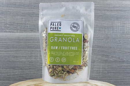 Paleo Pure Ppu Granola Fruit Free 300g Pantry > Granola, Cereal, Oats & Bars