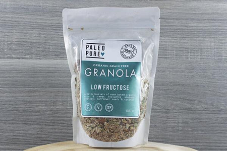 Paleo Pure Ppu Granola Low Fructose 300g Pantry > Granola, Cereal, Oats & Bars