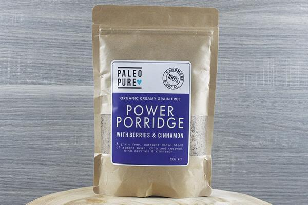 Paleo Pure Ppu Power Porridge Berries & Cinnamon 300g Pantry > Granola, Cereal, Oats & Bars