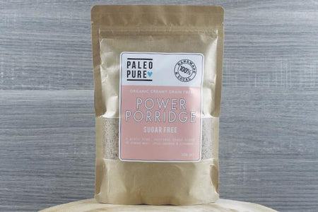 Paleo Pure Ppu Power Porridge Sugar Free 300g Pantry > Granola, Cereal, Oats & Bars
