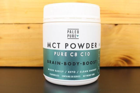 Paleo Pure Pure MCT Oil Powder 180g Pantry > Protein Powders & Supplements
