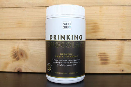 Paleo Pure Sugar Free Drinking Choc 250g Pantry > Drink Mixers & More