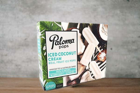 Paloma Pops Salted Coconut & Cream 5x6 pack 75ml Freezer > Ready-Made Meals