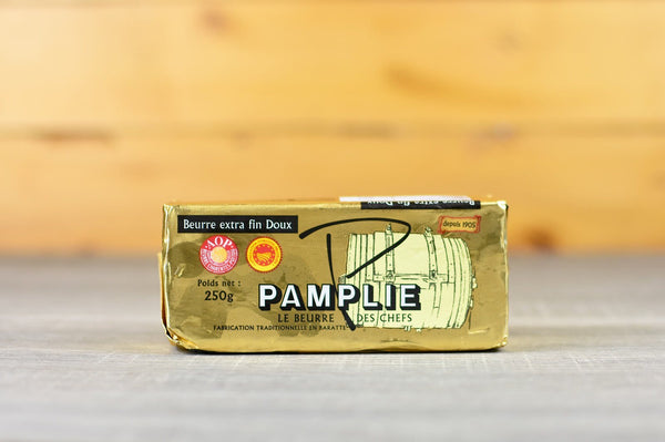 Pamplie Unsalted Soft Extra Fine Butter 250g Dairy & Eggs > Butter