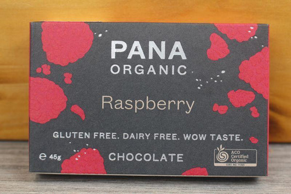 Pana Org Raspberry Chocolate 45g Pantry > Confectionery