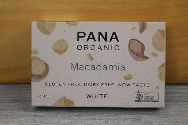 Pana Org White Macadamia Chocolate 45g Pantry > Confectionery