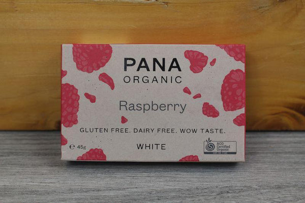 Pana Org White Raspberry Chocolate 45g Pantry > Confectionery