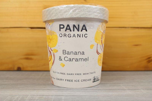 Pana Organic Banana Caramel Ice Cream 475ml Freezer > Ice Cream