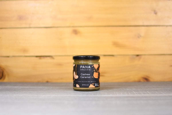 Pana Organic Cashew & Caramel Spread 200g Pantry > Cookies, Biscuits & Sweet Snacks