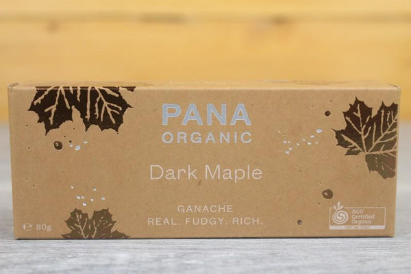 Pana Organic Ganache Dark Maple Chocolate 45g Pantry > Confectionery