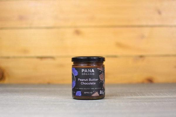 Pana Organic Peanut Butter & Chocolate Spread 200g Pantry > Cookies, Biscuits & Sweet Snacks