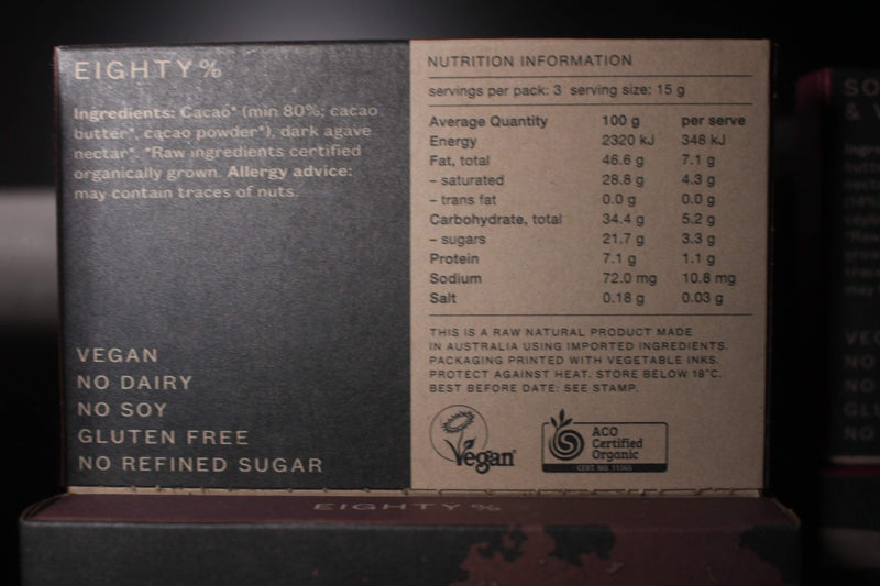 Chocolate Eighty% 45g