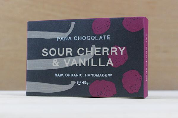 Pana Pana Chocolate Sour Cherry & Vanilla 45g Pana