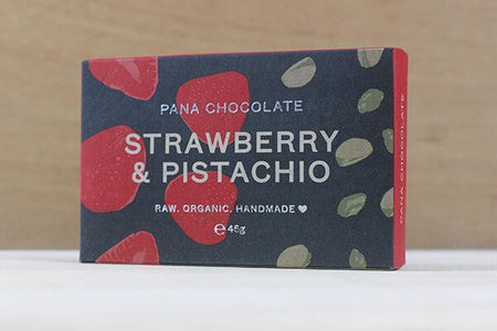 Pana Pana Chocolate Strawberry & Pistachio 45g Pana