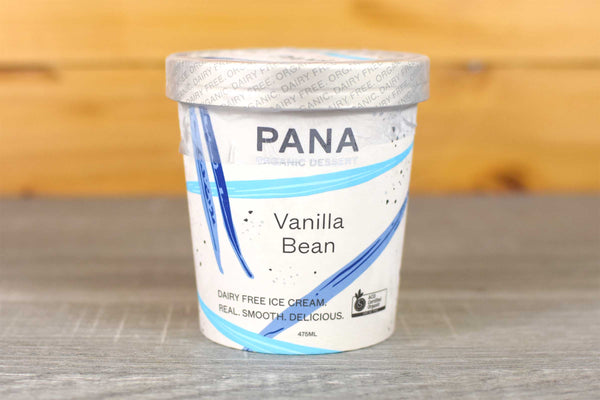 Pana Pana Org Vanilla Bean Ice Cream 475ml Freezer > Ice Cream