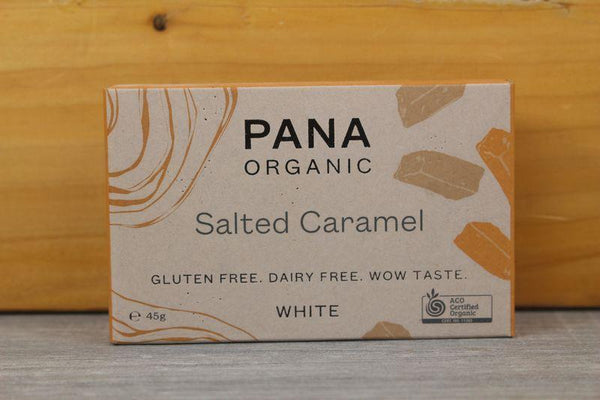 Pana White Chocolate Salted Caramel 45g Pantry > Confectionery