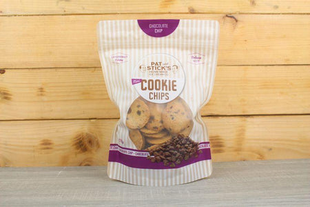 Pat and Stick's Chocolate Chip Cookie Chips 170g Pantry > Cookies, Chips & Snacks