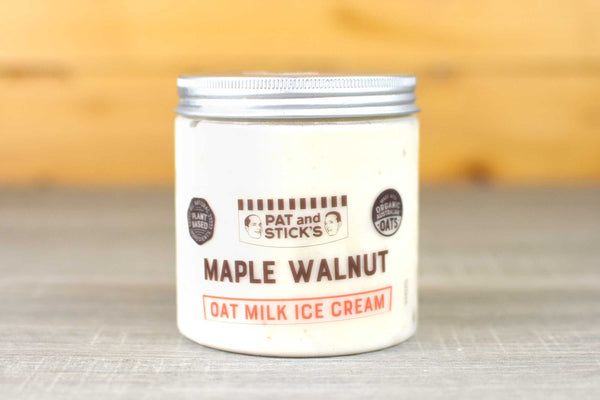 Pat and Stick's Maple Walnut Oat Milk Ice Cream 520ml Freezer > Ice Cream