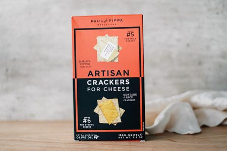 Paul & Pippa Chapters 5 & 6 Artisan Crackers 200g Pantry > Biscuits, Crackers & Crispbreads