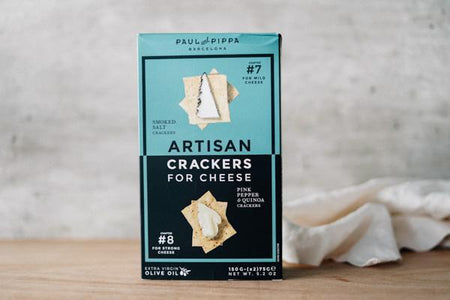 Paul & Pippa Chapters 7 & 8 Artisan Crackers 200g Pantry > Biscuits, Crackers & Crispbreads